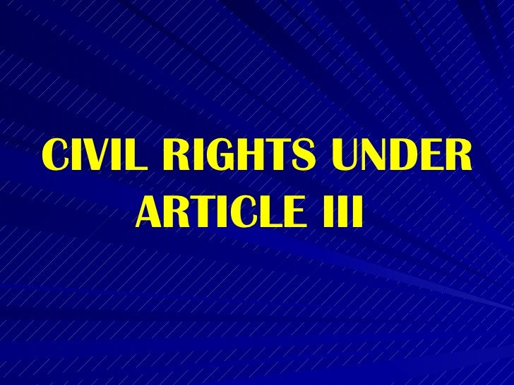 bill of rights civil rights It is important to note the difference between civil rights and civil liberties the legal area known as civil rights has traditionally revolved around the.