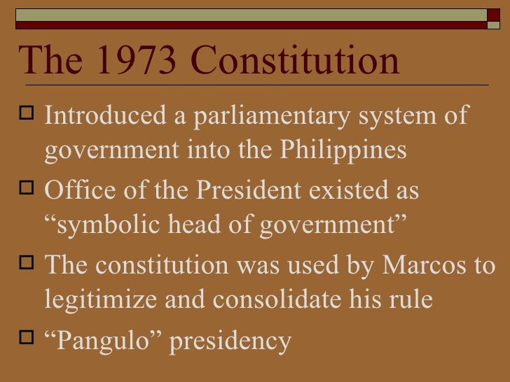 Phillipine constitution