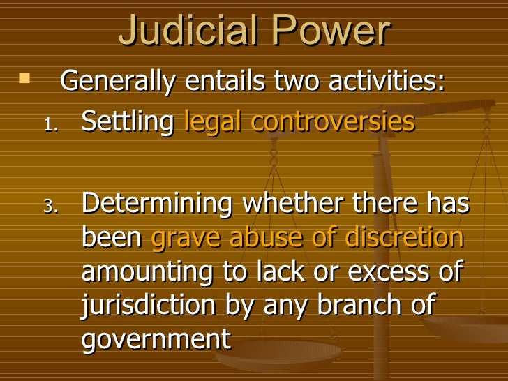 the philippine judicial system Manila, philippines - a retired court of appeals justice on  in its legal war  against the government service insurance system (gsis) another.