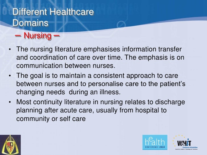 four domains of nursing data Nursing informatics specialists practice in a wide variety of roles that  nursing data sets and terminologies  • 7 domains at top, most abstract level 1 physiologic – basic 2 physiologic – complex 3 behavioral 4 safety 5 family.