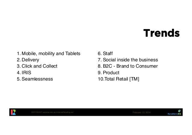 Ps258 2014 Trends in multichannel retail - keynote for ScotlandIS, February 2014 Slide 2