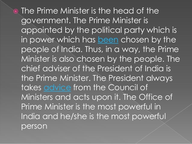Difference Between The Position Of President And Prime
