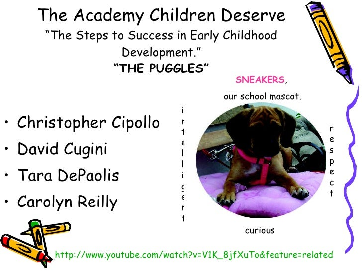 "P.S. 317  The Academy Children Deserve ""The Steps to Success in Early Childhood Development."" ""THE PUGGLES"" <ul><li>Christ..."