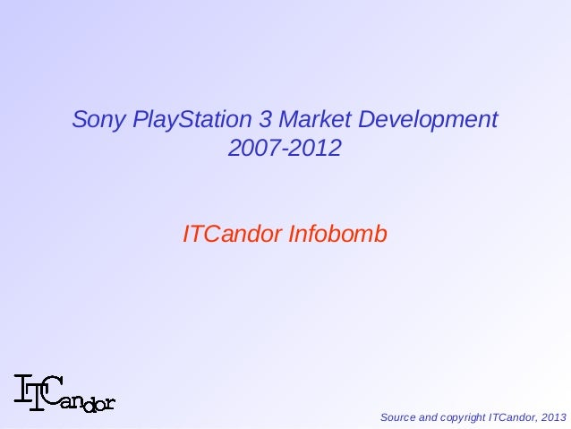 sony market development And that's changed our views on vr/ar growth  the console/pc vr market should also see sony continue to drive core games revenues.