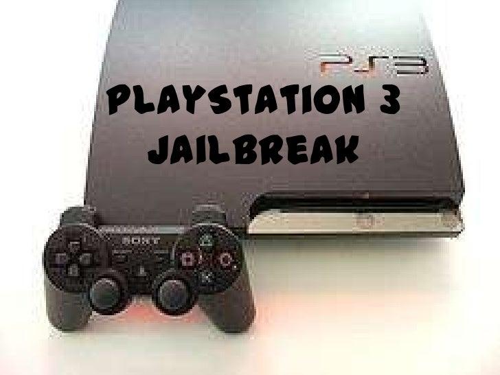 PlayStation 3  JailBreak