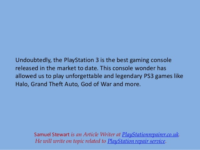ps3 repair guide the best guide once and for all rh slideshare net Old PlayStation 3 PS3 PS3 Ylod
