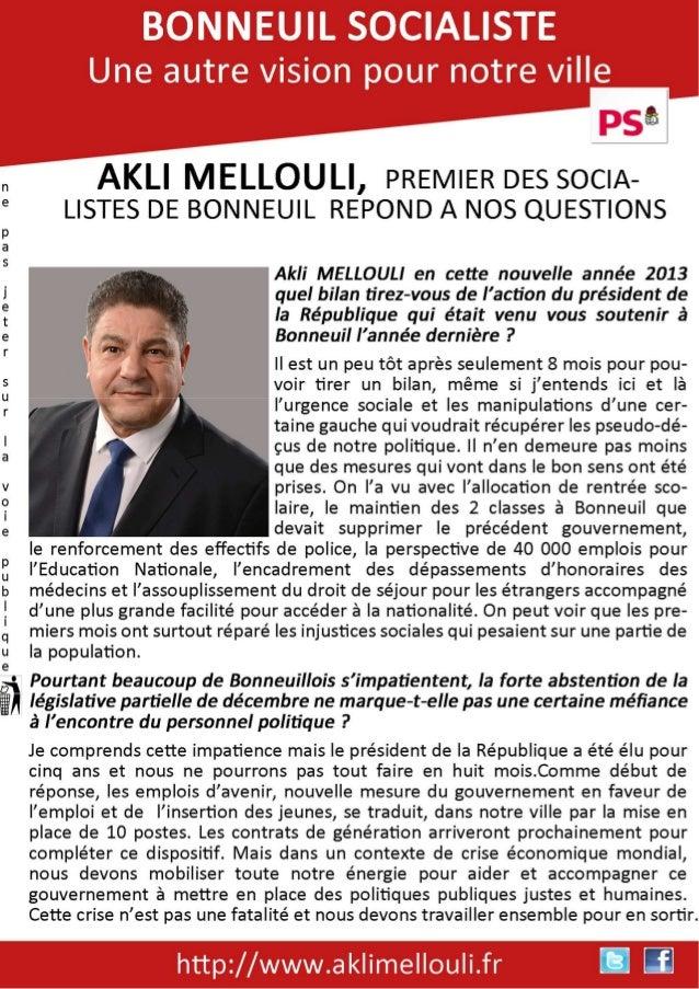Interview Akli Mellouli, Mehdi Mebeida