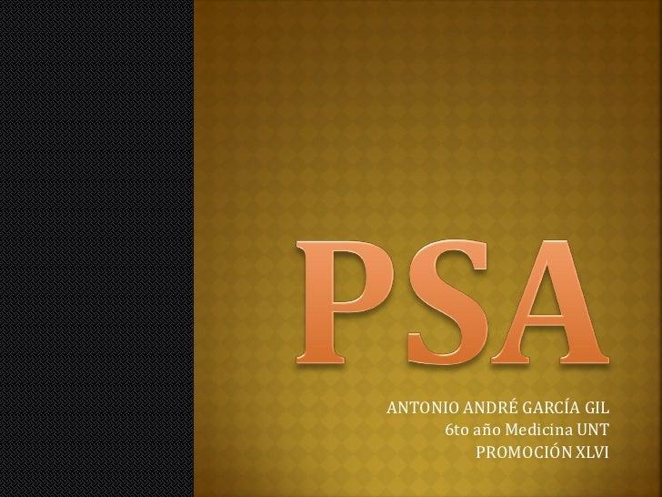 ANTONIO ANDRÉ GARCÍA GIL     6to año Medicina UNT         PROMOCIÓN XLVI