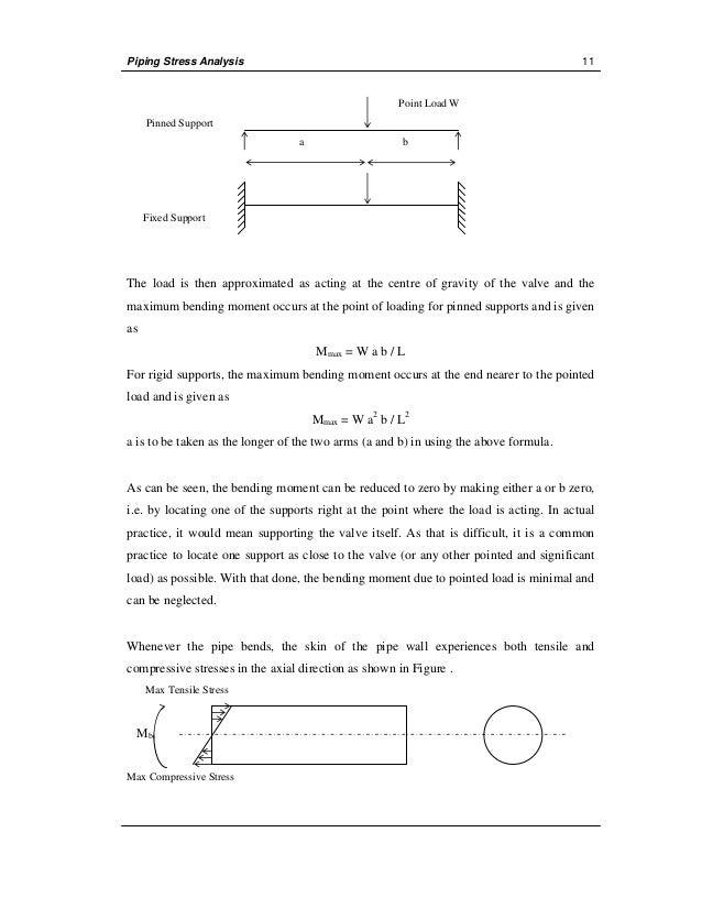 manual stress analysis rh slideshare net Beam Stress Calculation Stress Calculation in Bar