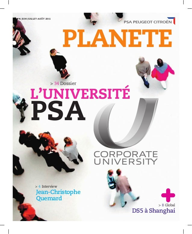 > 4 Interview Jean-Christophe Quemard PLANETE > 8 Global DS5 à Shanghai Nº6 JUIN-JUILLET 2011Nº6 JUIN-JUILLET-AOÛT 2011 > ...