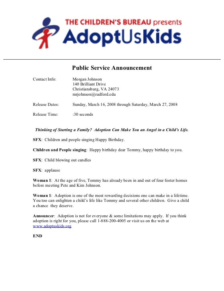Psa Adoption