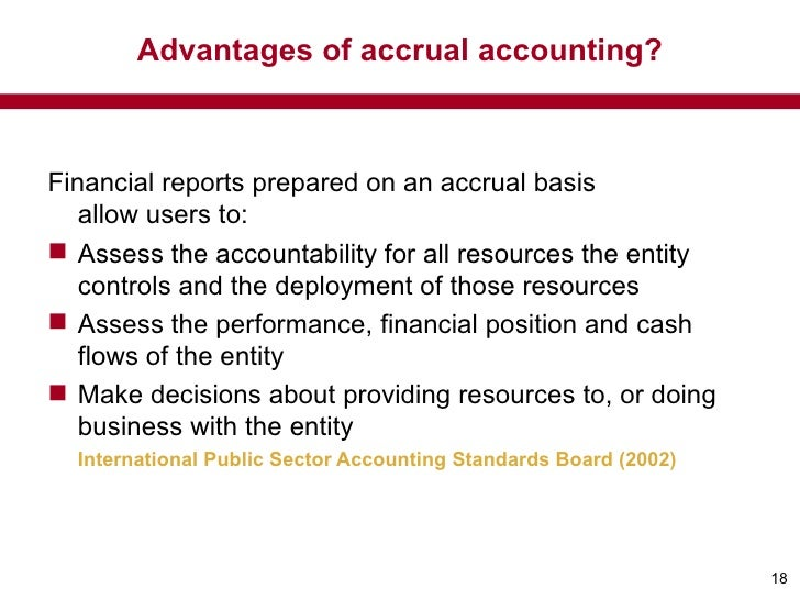 accrual accounting in public sector Fédération des experts comptables européens accrual accounting in the public sector january 2007 a paper from the fee public sector committee.