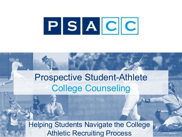 Prospective Student Athlete College Counseling