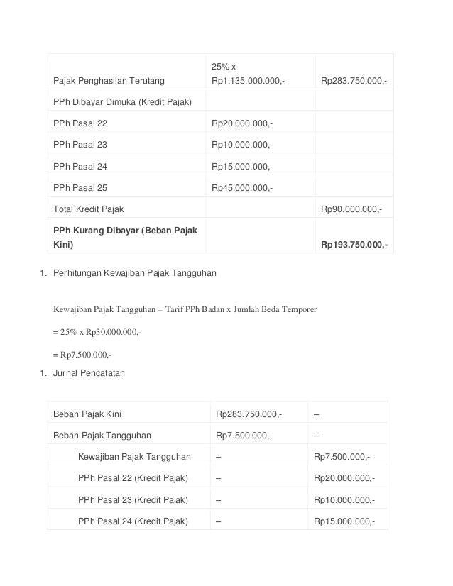 Akuntansi Pajak Christine Aprilya Psak 46 Suryanih Institut Stiami