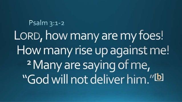 psalms 3