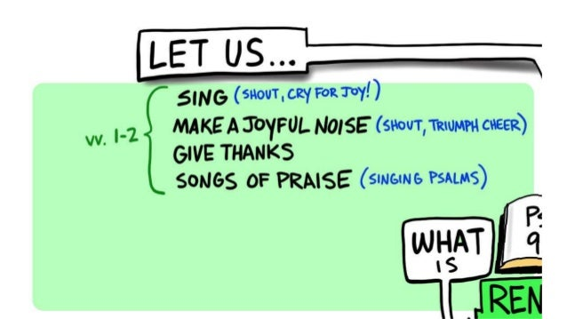 Psalm 95 | The What and Why of Worship