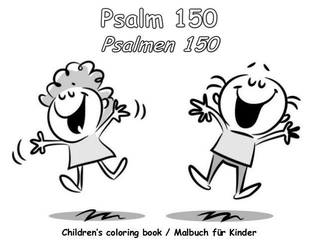Children's coloring book / Malbuch für Kinder