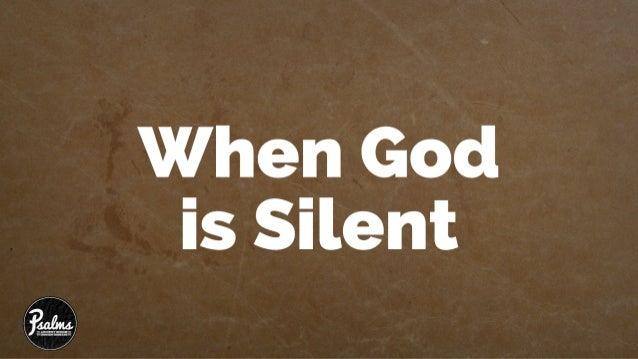 Psalms 13 - When God is Silent Slide 2