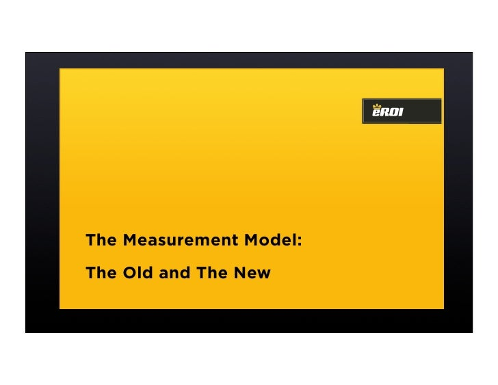 The Measurement Model: The Old and The New