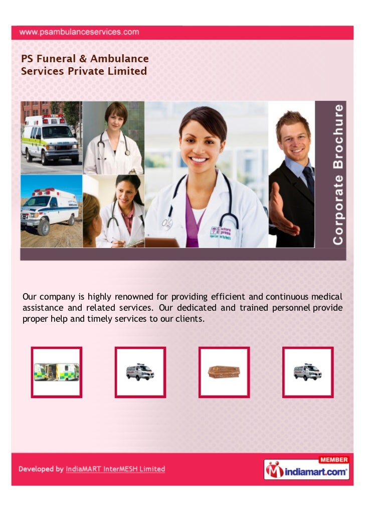 Our company is highly renowned for providing efficient and continuous medicalassistance and related services. Our dedicate...