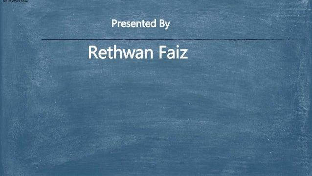 Psa presentation by Rethwan Faiz  Slide 2