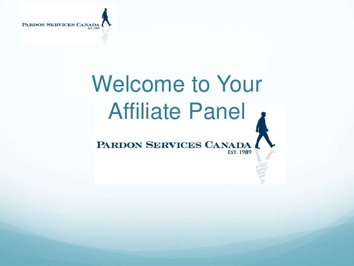 Welcome to Your Affiliate Panel<br />