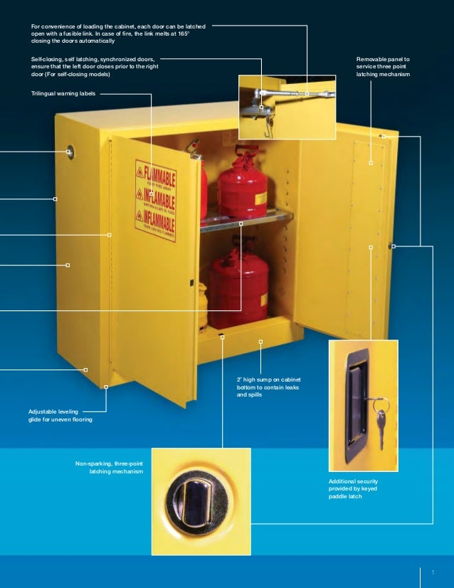 Psc Flammable Storage Safety Cabinets