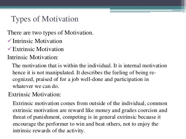 importance of motivation to learn The importance of motivation and measuring it in students is key in a successful  learning environment check for these signs to see if your.