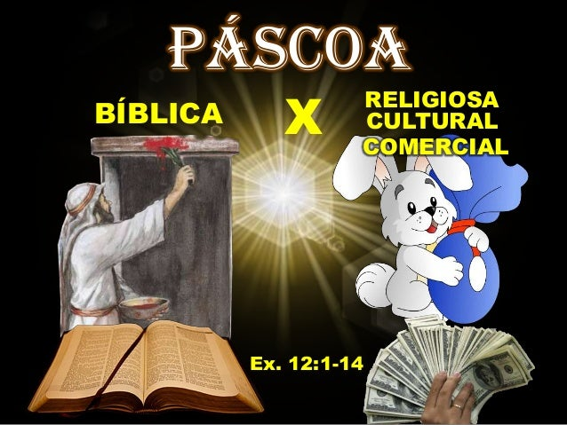 PÁSCOA             X                    RELIGIOSABÍBLICA             CULTURAL                    COMERCIAL          Ex. 12...
