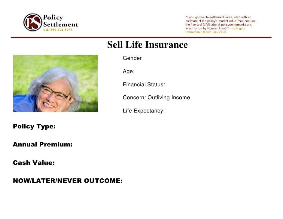 Sell Life Insurance