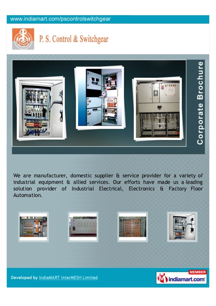 We are manufacturer, domestic supplier & service provider for a variety ofindustrial equipment & allied services. Our effo...