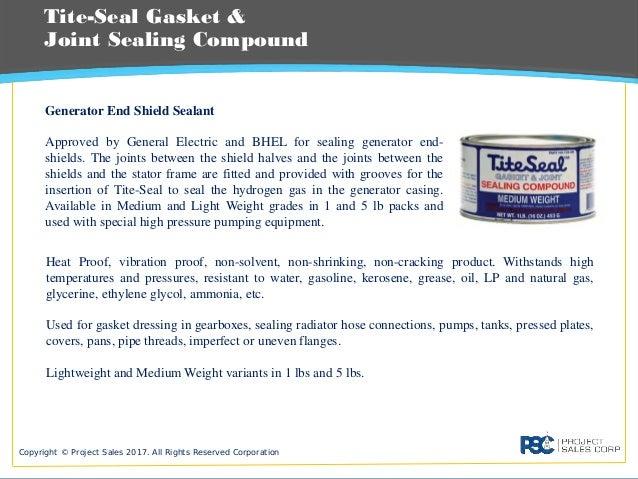 PSC Sealing Compounds