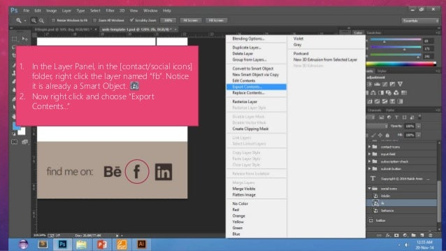 how to export psd layers to pdf