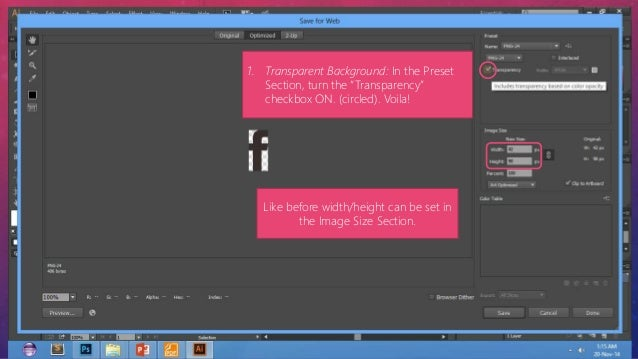 How to export A layer from Adobe Photoshop To a PNG file for