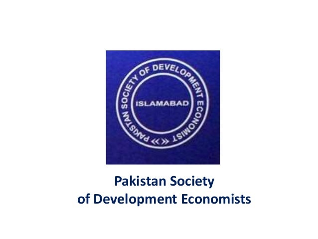 Pakistan Society of Development Economists