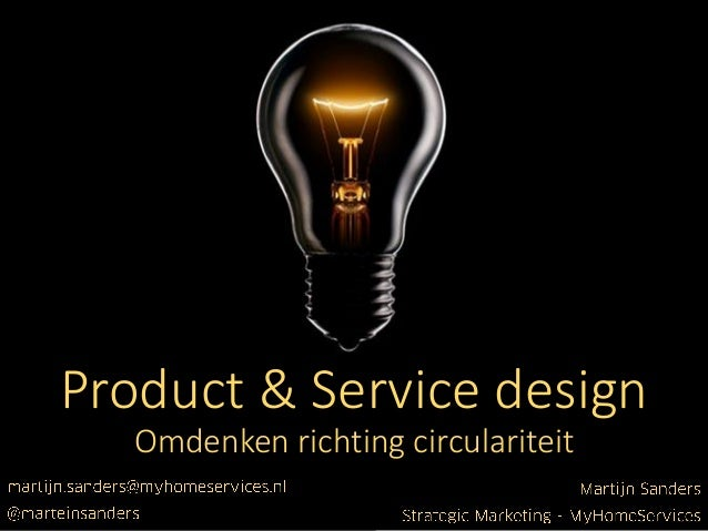 Product en service design martijn sanders dutch design for Product service design