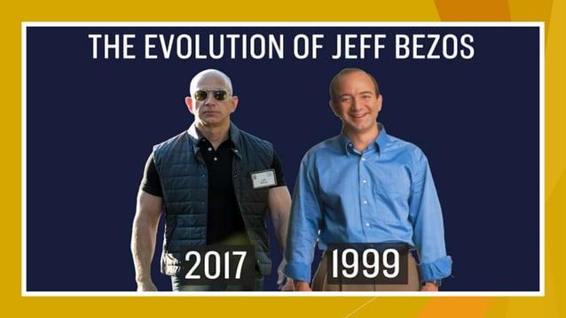 Sé tú mismo, a menos que puedas ser como Jeff Bezos