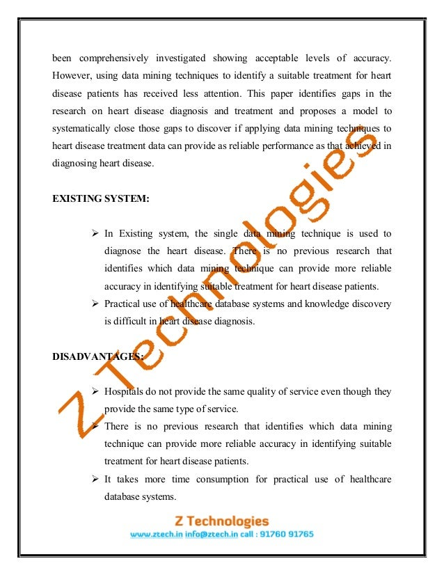 research paper on data mining techniques Literature review on data mining techniques ksuguna asstprofessor department of computer applications drngp arts and science college coimbatore.