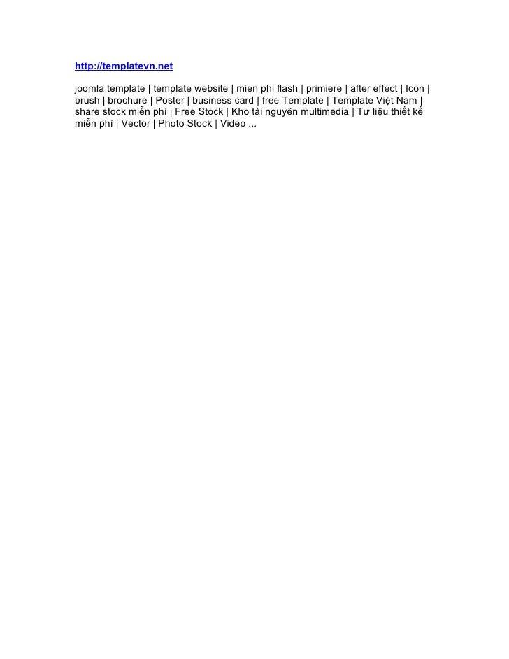 http://templatevn.netjoomla template | template website | mien phi flash | primiere | after effect | Icon |brush | brochur...
