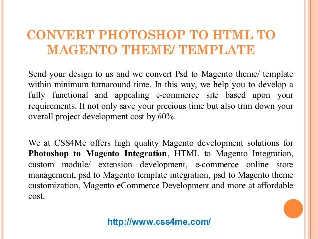 psd to magento theme template conversion a quick introduction