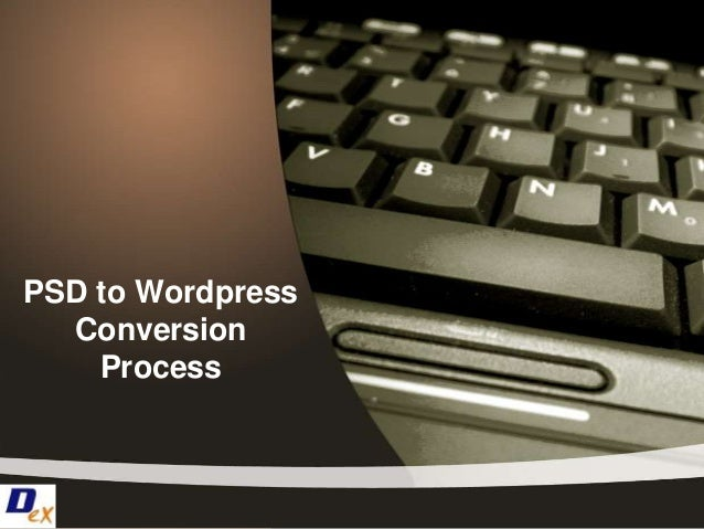 PSD to WordpressConversionProcess