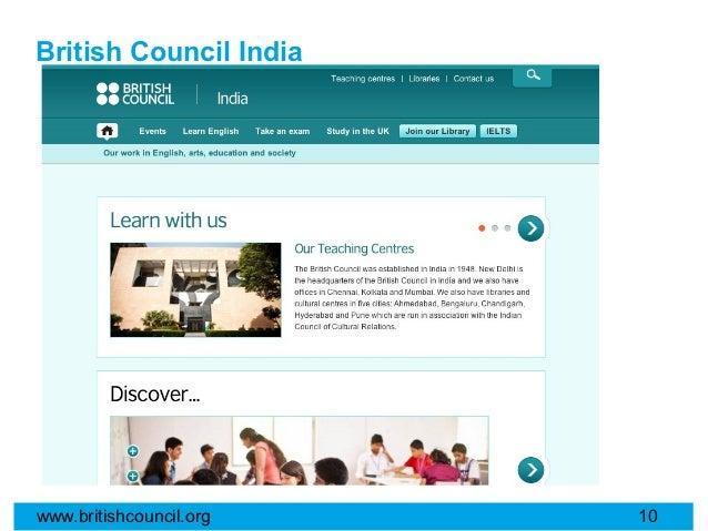 British Council Indiawww.britishcouncil.org   10