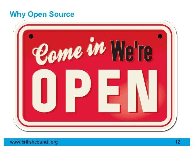 Why Open Sourcewww.britishcouncil.org   12