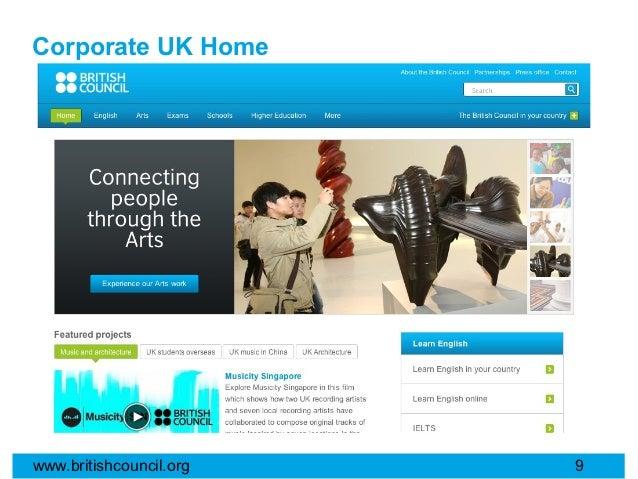 Corporate UK Homewww.britishcouncil.org   9