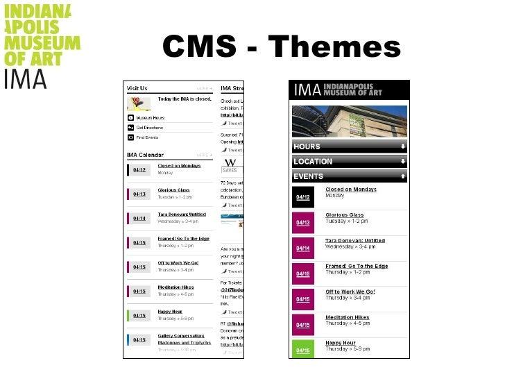 CMS - Themes<br />