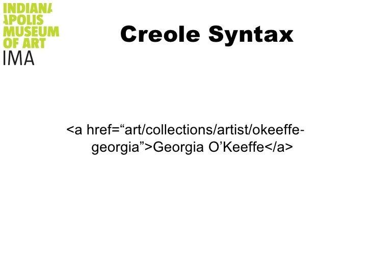 Creole Syntax<br />ukiyo-e<br />