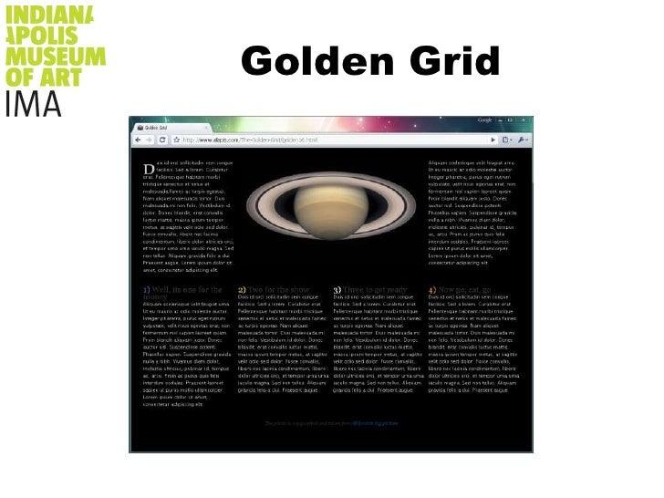 Design & Presentation<br />