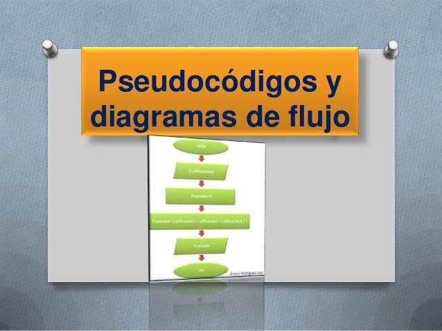Pseudocódigos y diagramas de flujo