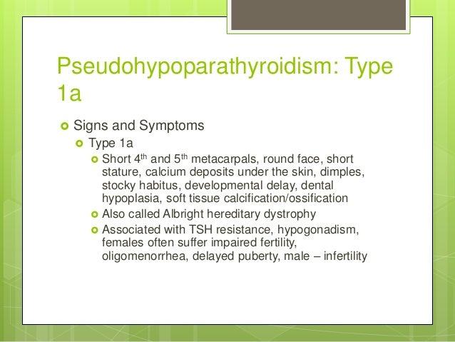 Pseudohypoparathyroidism