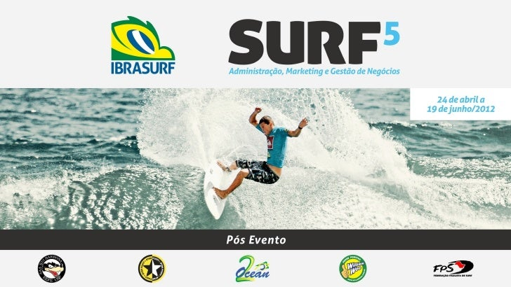 APRESENTAÇÃO 5ª edição do Curso Surf: Administração, Marke6ng e Gestão de Negócios DATA: 24 de...